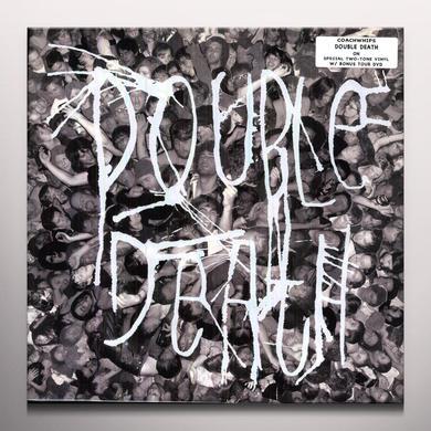 Coachwhips DOUBLE DEATH (BONUS DVD) Vinyl Record - Colored Vinyl, Gatefold Sleeve