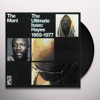 MAN: ULTIMATE ISAAC HAYES Vinyl Record - UK Import