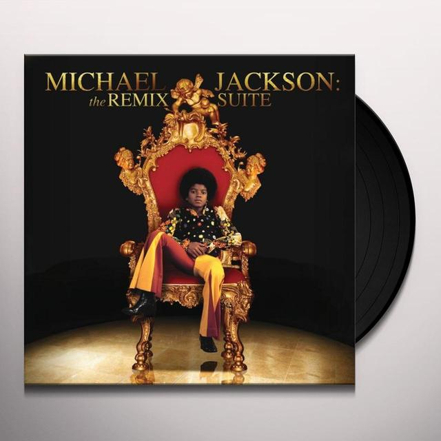 MICHAEL JACKSON: THE REMIX SUITES Vinyl Record - Remixes