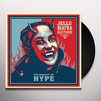 Jello / Guantanamo School Of Medicine Biafra AUDACITY OF HYPE Vinyl Record - Digital Download Included