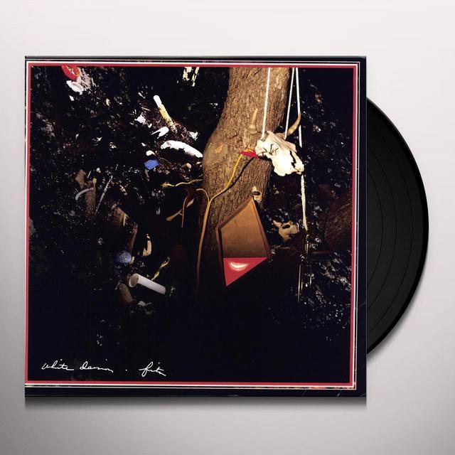 White Denim FITS Vinyl Record