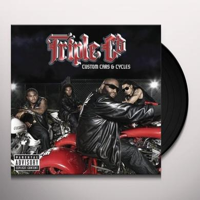 Triple C's CUSTOM CARS & CYCLES Vinyl Record