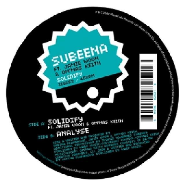 Subeena SOLIDIFY Vinyl Record