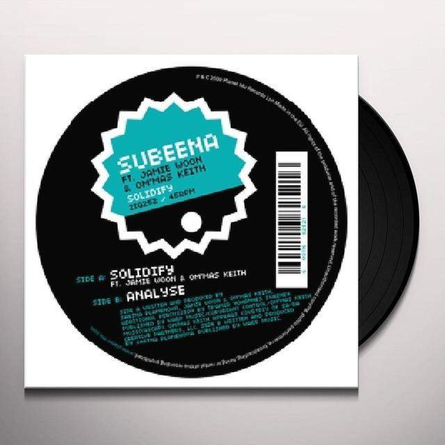 Subeena SOLIDIFY Vinyl Record