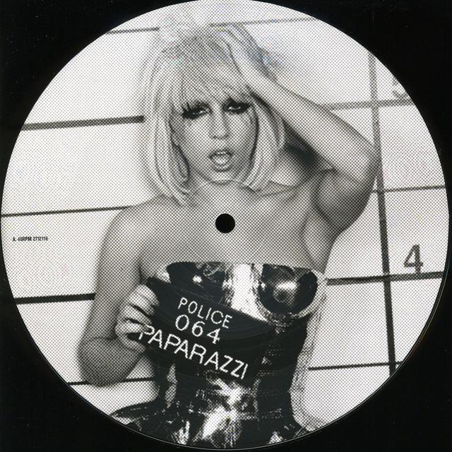 Lady Gaga PAPARAZZI Vinyl Record