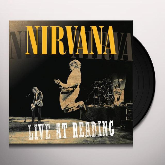 Nirvana LIVE AT READING Vinyl Record