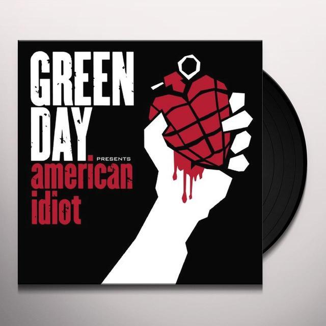 Green Day AMERICAN IDIOT Vinyl Record - 180 Gram Pressing, Poster