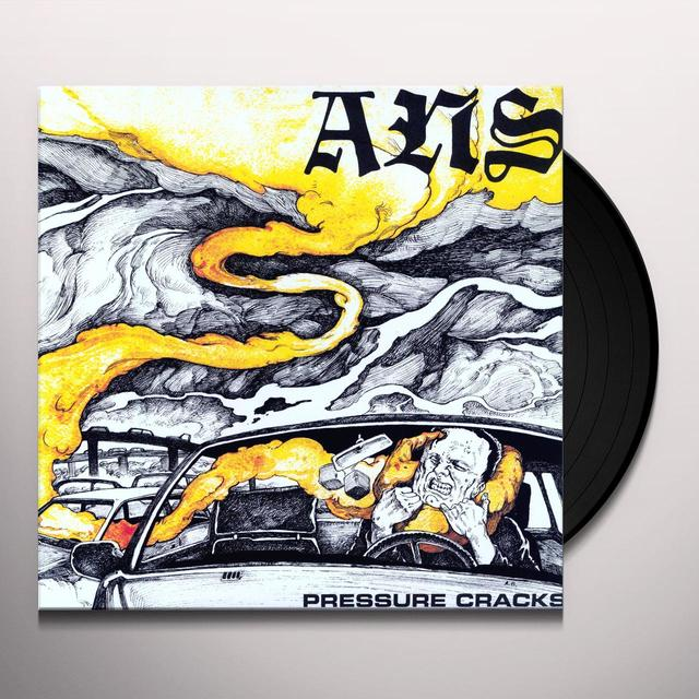ANS PRESSURE CRACKS Vinyl Record