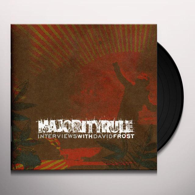 Majority Rule INTERVIEWS WITH DAVID FROST Vinyl Record