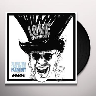 Big Kenny QUIET TIMES OF A ROCK & ROLL FARM BOY Vinyl Record - 180 Gram Pressing