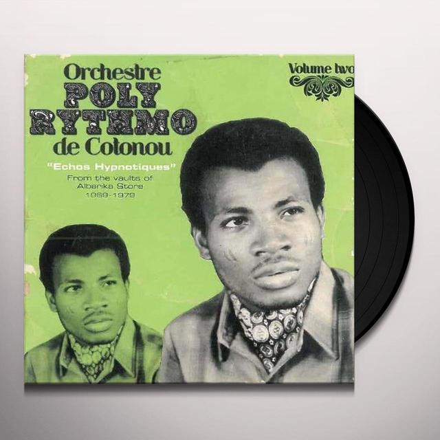 Orchestre Poly-Rythmo De Cotonou ECHOS HYPNOTIQUES 2 Vinyl Record