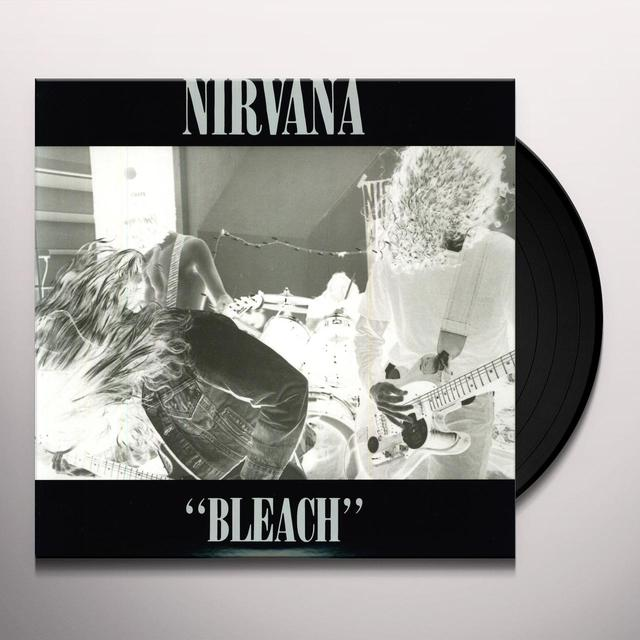 Nirvana BLEACH (DELUXE) Vinyl Record - 180 Gram Pressing, Deluxe Edition