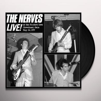 Nerves LIVE AT THE PIRATE'S COVE Vinyl Record - Limited Edition