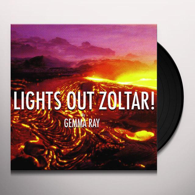Gemma Ray LIGHTS OUT ZOLTAR Vinyl Record