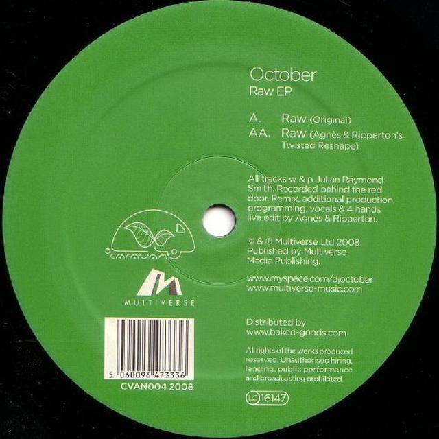 October RAW Vinyl Record