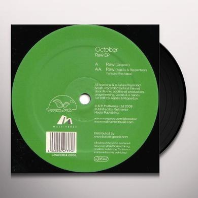 October RAW (EP) Vinyl Record