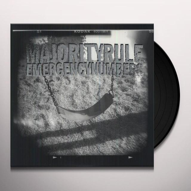 Majority Rule EMERGENCY NUMBERS Vinyl Record