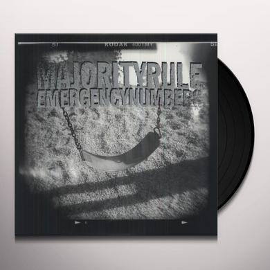Majority Rule EMERGENCY NUMBERS Vinyl Record