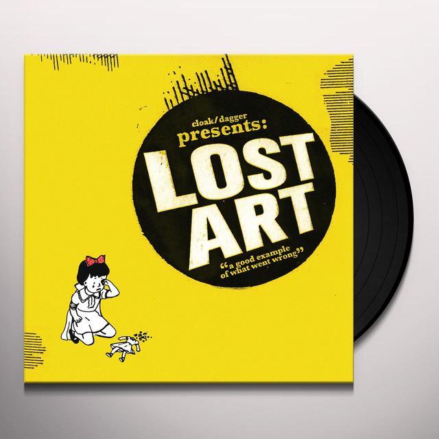 Cloak/Dagger LOST ART Vinyl Record