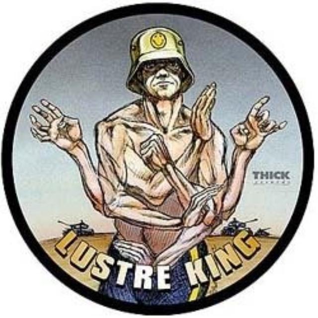 Lustre Kings / 5 Deadly Veno COLLAPSO / VICE GRIPS SPLIT Vinyl Record