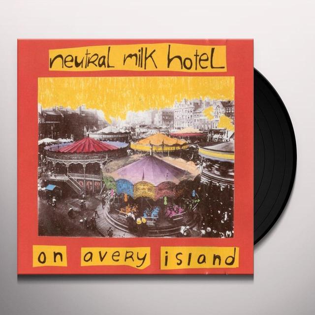 Neutral Milk Hotel ON AVERY ISLAND Vinyl Record - 180 Gram Pressing, Reissue