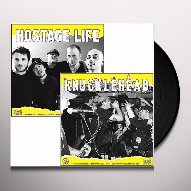 Hostage Life / Knucklehead SPLIT Vinyl Record
