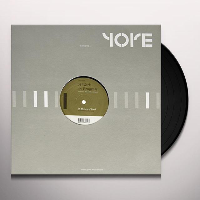 Work In Progress UNTITLED (EP) Vinyl Record