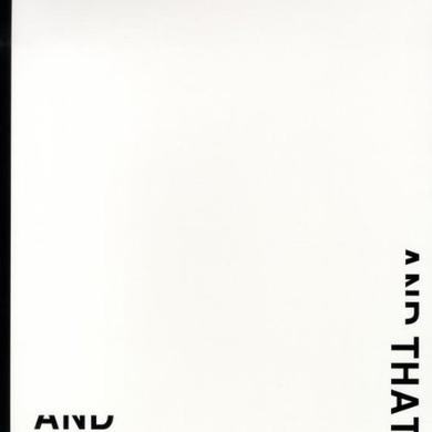 Peter Downsbrough & THAT Vinyl Record