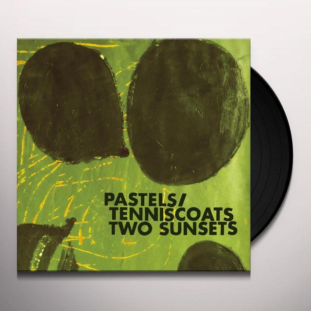 Pastels / Tenniscoats TWO SUNSETS Vinyl Record