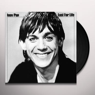 Iggy Pop LUST FOR LIFE Vinyl Record - 180 Gram Pressing