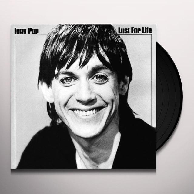 Iggy Pop LUST FOR LIFE Vinyl Record - 180 Gram Pressing