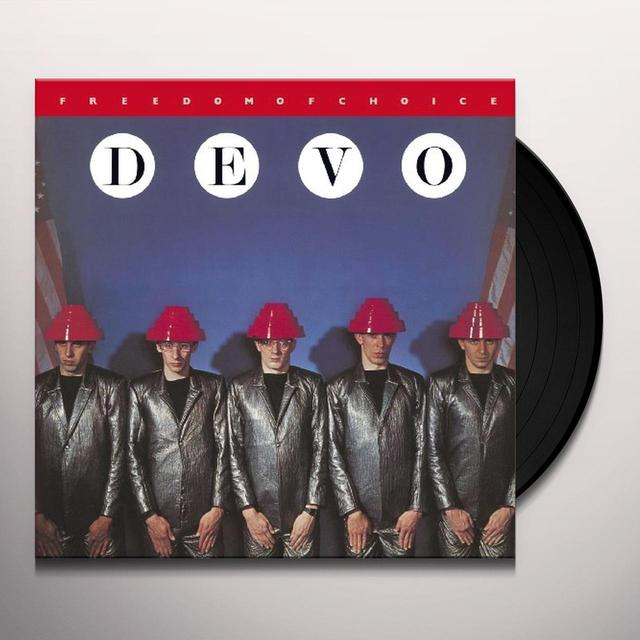 Devo FREEDOM OF CHOICE (RED VINYL) Vinyl Record
