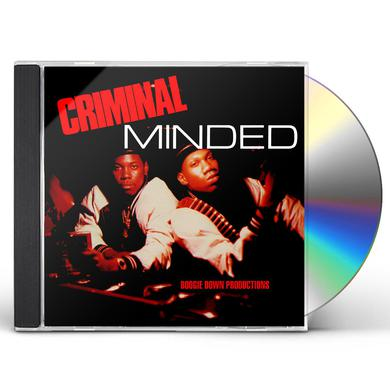 Boogie Down Productions CRIMINAL MINDED CD