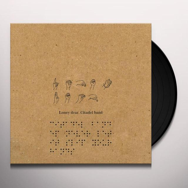 Loney Dear CITADEL BAND Vinyl Record - Limited Edition