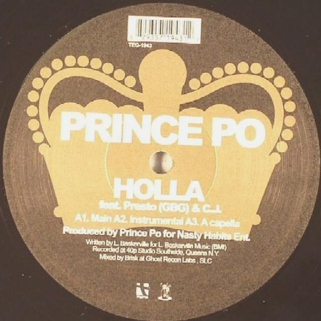 Prince Po HOLLA / MECHETI LIGHTSPEED (Vinyl)