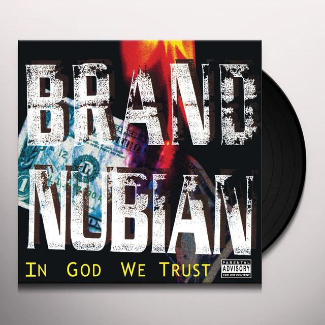 Brand Nubian IN GOD WE TRUST Vinyl Record