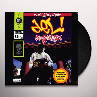 Del The Funky Homosapien NO NEED FOR ALARM Vinyl Record
