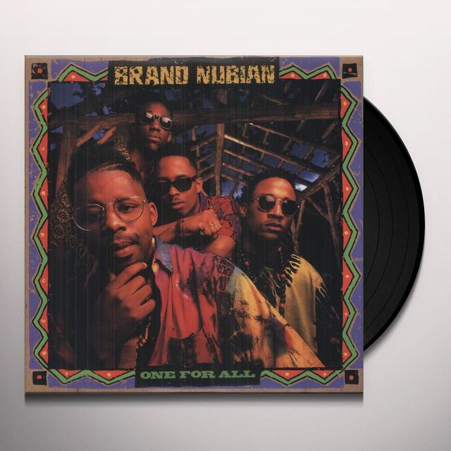 Brand Nubian ONE FOR ALL Vinyl Record