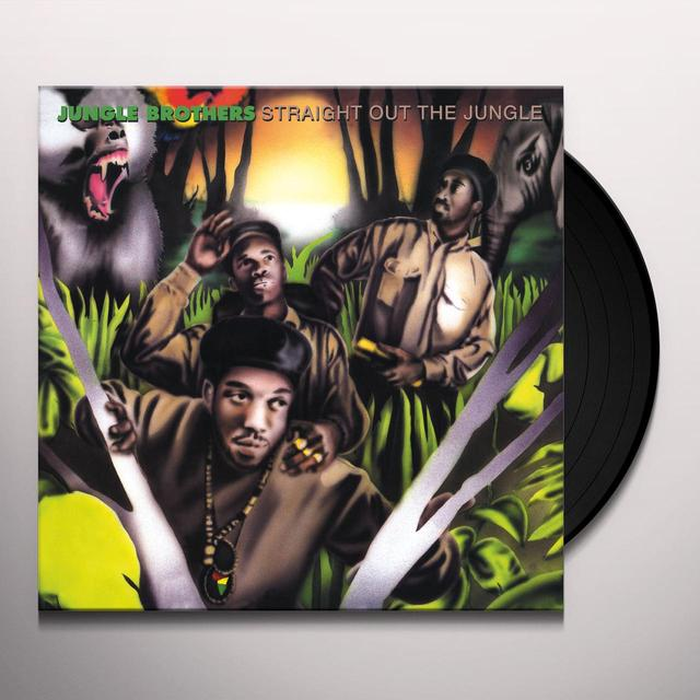Jungle Brothers STRAIGHT OUT THE JUNGLE Vinyl Record