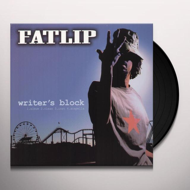 Fatlip WRITER'S BLOCK / FIRST HEAT Vinyl Record