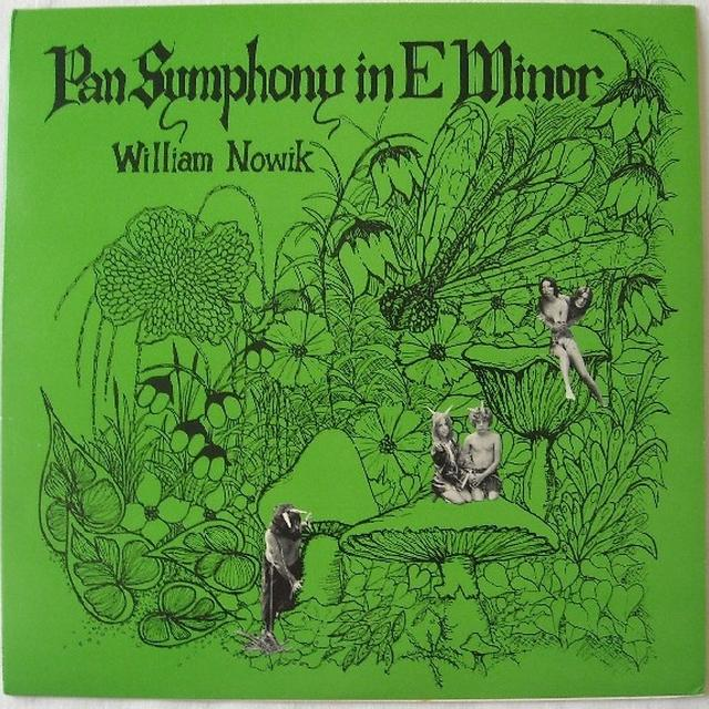 William Nowik PAN SYMPHONY IN E MINOR Vinyl Record