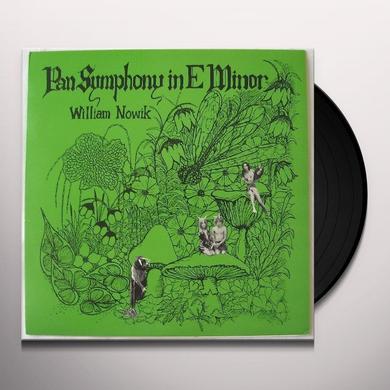 William Nowik PAN SYMPHONY IN E MINOR Vinyl Record