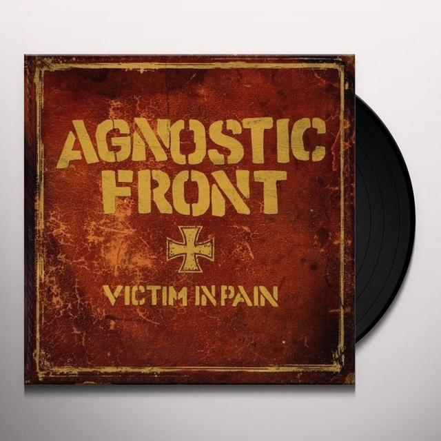 Agnostic Front VICTIM IN PAIN Vinyl Record - Limited Edition