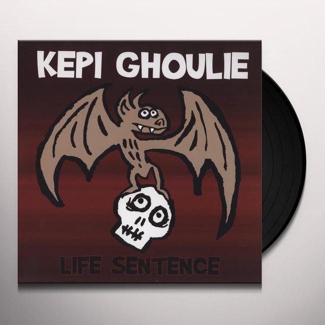 Kepi Ghoulie LIFE SENTENCE Vinyl Record