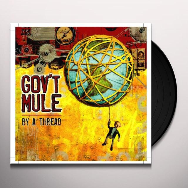 Govt Mule BY A THREAD Vinyl Record