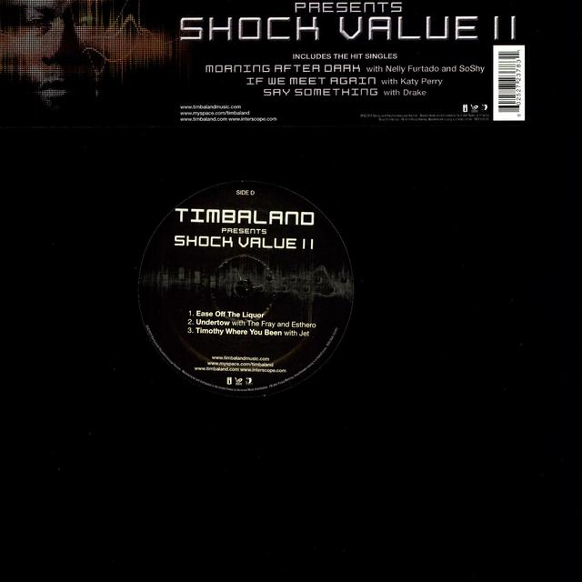 Timbaland SHOCK VALUE 2 Vinyl Record