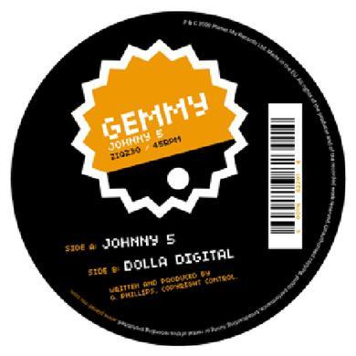 Gemmy JOHNNY 5 Vinyl Record