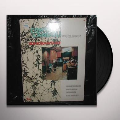 Conte Candoli / Phil Woods OLD AQUAINTANCE Vinyl Record
