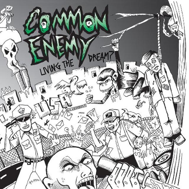 Common Enemy LIVING THE DREAM Vinyl Record - Limited Edition, Digital Download Included