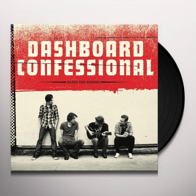 Dashboard Confessional ALTER THE ENDING Vinyl Record